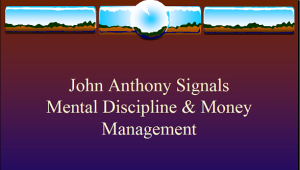 John anthony forex